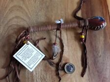 More details for bear rattle hand crafted by vera beaver of the navajo people - native american