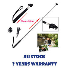 Extendable Telescoping Handheld Monopod Grip Pole Mount For GoPro Hero 2 3 3+ 4