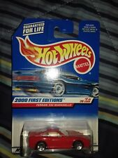 Hot Wheels 2000 First Edition Ferrari 550 Maranello | Long Card
