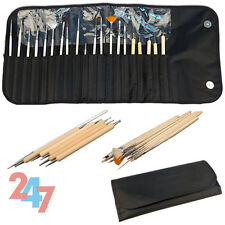 Brushes Bundle For Women Girl 20Pcs Nail Art Design Painting Detailing Pen B074