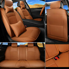 Truck Car Seat Cover Set For Pickup Dodge Ram1500 2500 3500 2009-2019 PU Leather