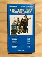Video Karaoke - Sing Along Video Multiplex Stereo Vol. 801 VHS 90s - New/ Sealed