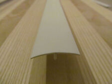 "2 Ft OFF White Rigid Plastic 1 3/8"" Ceiling Sidewall Batten Trim RV Trailer"