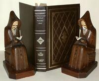 Autobiography Of Benjamin Franklin + J. Woolman- Harvard - HB P.F.Collier C1970+