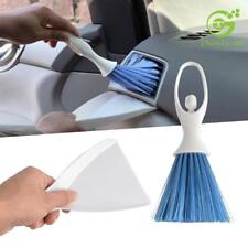 Car Dashboard Vent Cleaner Tool Keyboard Air Outlet Mini Clean Brush+Dustpan LH