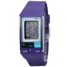 Casio LDF52-6A Ladies Pop Tone Purple Fashion Sports Watch Alarm Chronograph