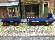 Dinky BEV Pickford Electric Truck And Trailer (repaint)