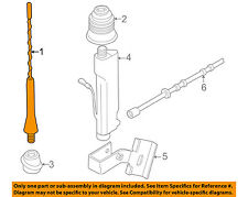 BMW OEM 96-02 Z3-Antenna Mast 65218375160