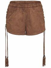 844/1 NEU ONLY Damen Hose Hotpant RAVEN FAUX SUEDE SHORTS OTW  Gr.M/ 38