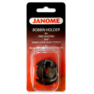 Janome Blue Dot Bobbin Case for Top Loading Auto Thread Cutter Models