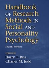 HANDBOOK OF RESEARCH METHODS IN SOCIAL AND PERSONALITY PSYCHOLOGY - REIS, HARRY