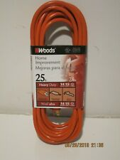 Woods  SJTW 0625 25FT 14-AWG, 15-AMP 3-WIRE HEAVY DUTY Extension Cord FREE SHIP!