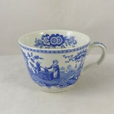 """Spode Blue Room Collection Georgian Series """" Girl at Well """" Tea Cup (No Saucer)"""