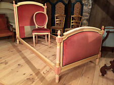 Lit de style Louis  XVI et sa chaise