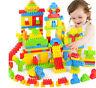 144pcs bunte Plastikbausteine Kinder Puzzle pädagogisches Spielzeug GeschenkWMUU