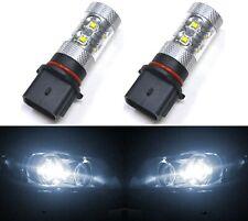 LED 50W 12277 PS13W P13W H18 White 5000K Two Bulbs DRL Daytime Drive Light