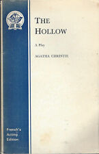 AGATHA CHRISTIE  THE HOLLOW - A PLAY - UK SAMUEL FRENCH 1952