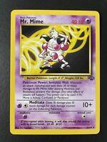 Pokemon - Jungle Unlimited - Mr. Mime Holo Rare 6/64 NM