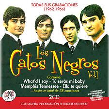 LOS GATOS NEGROS-TODAS SUS GRABACIONES-2CD