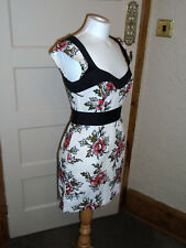 FRENCH CONNECTION DESIGNER DRESS - SIZE UK 10 IN VGC (FREE UK P&P)