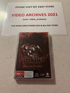 Hellsing Ultimate Volume 1-4 DVD manga