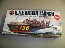 R.A.F.RESCUE LAUNCH 63FT BRITISH POWER BOAT TYPE 2 'WHALEBACK' 1/72  NEW IN BOX