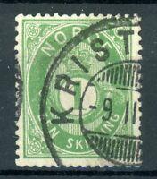 Norwegen MiNr. 16 c gestempelt (B360