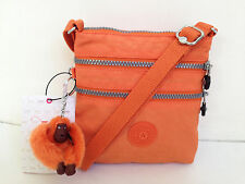 BNEW Authentic KIPLING Alvar XS AC7125 Crossbody Sling Bag Orange Juice FreeShip