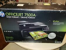 HP Officejet 7500A All-In-One Wide Format Inkjet Printer - Print Fax Scan Copy