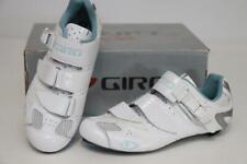 Giro Women's Factress Cycling Road Bike Shoes 38 6.5 White Silver EC90 Carbon