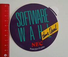 Aufkleber/Sticker: NEC Pinwriter P2 plus (090516175)