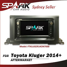 C-T CARPLAYER ANDROID AUTO GPS DVD SAT NAV BLUETOOTH FOR TOYOTA KLUGER 2014+