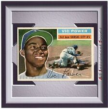 1956 Topps VIC POWER #67 EX+ *fabulous baseball card for your set* M30b