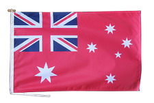 More details for australia red ensign flag with rope and toggle - various sizes