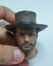 Custom Made 1/6 Scale Clint Eastwood The Good Head Sculpt For Hot Toys Body