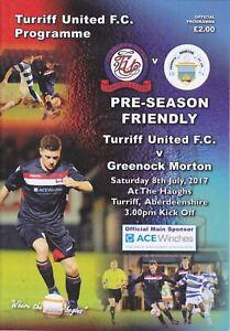 Friendly Turriff United v Morton 8 Jul 2017