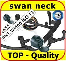 Towbar & Electric 13pin Peugeot 806 1994 - 2001 Expert I 1994 - 2006 / swan neck