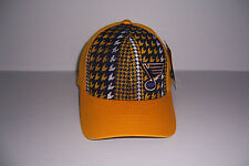OLD TIME HOCKEY ST. LOUIS BLUES MEN'S FLEX FIT HAT CAP SIZE S/M NEW