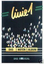 Linie 1 Eins Musical Das Noten Album Songbook