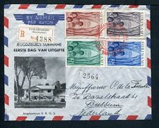 Suriname FDC E3 _ 1 M, met adres ;