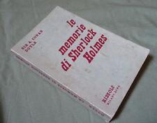 A. Conan Doyle_Memorie di Sherlock Holmes_Rizzoli Prima Edizione 1950