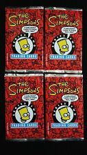 1994 Skybox The Simpsons Series 2 Trading Card 4 Pack Lot