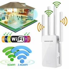 CA Wifi Extender Repeater 300Mbps Dual-Band Wireless Router Range Signal Booster