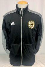 Boston Bruins Adidas Track Jacket Size S