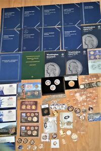 Large Lot-Many Interesting, Collectible, Saleable Coins & Albums  - Listed Below