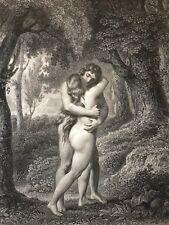 Paradis perdu Le premier baiser Milton Chateaubriand Lamartine 1891