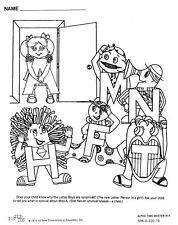 The Letter People MEGA Worksheets Set! Complete Handouts CD (1000 pgs!) Vol 1-6