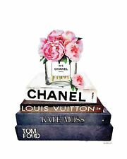 CHANEL NO 5 PERFUME WATERCOLOUR A4 poster Gloss high quality painting print