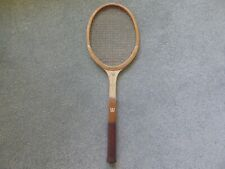 Vintage 1960s Wilson Stylist Wooden Tennis Racket