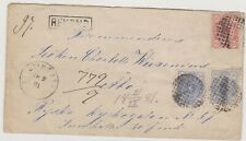 ok42 Finland 1881 Registered cover with 20p (2) & 25p